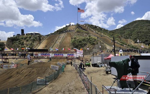 Motocross track Glen Helen - California - USA