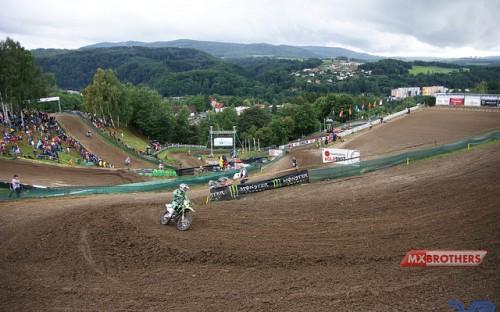 Motocross strecke Loket
