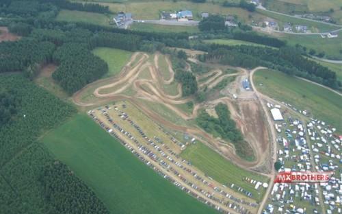 Aerial Motocross Track Dürler - Belgium