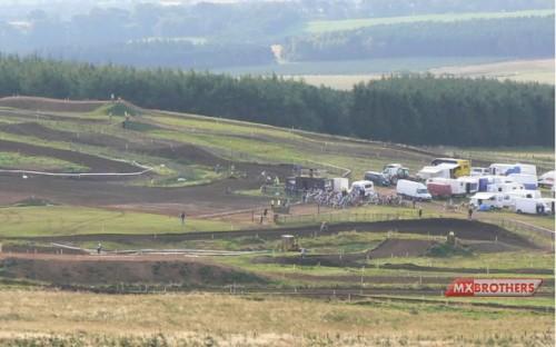 Motocross strecke Duns