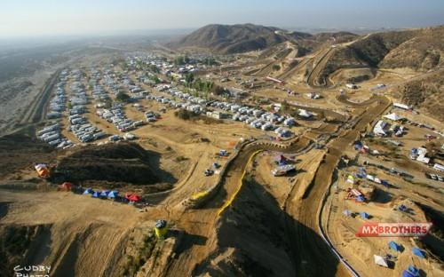 Motocross track Glen Helen - California - USA