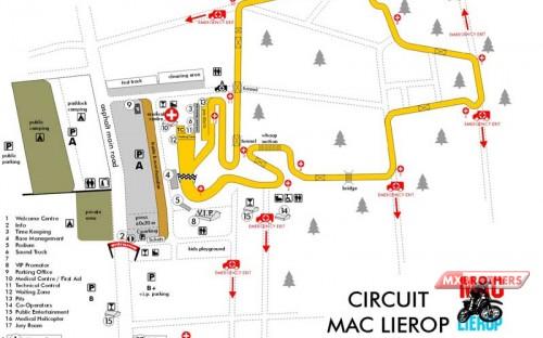 Motocross Track Lierop -Noord Brabant - Holland