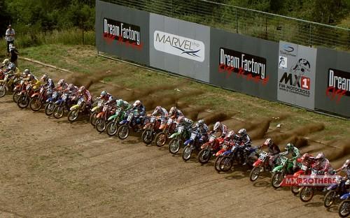 Motocross start Loket