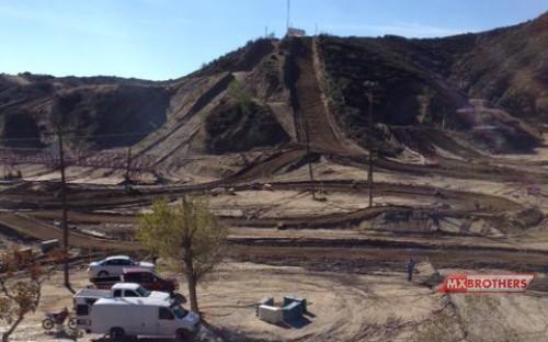 Motocross track Glen Helen - California - US