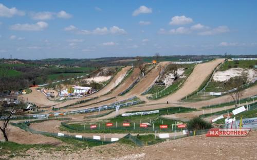 Motocross Track Castelnau de Lévis - France