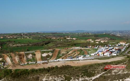 Motocross Strecke Castelnau de Lévis - France
