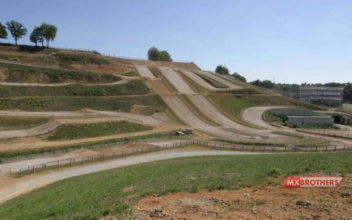 Motocross circuit Ernée - France