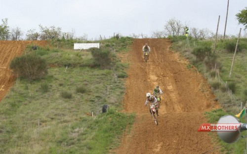Motocross Strecke Salles sur l'Hers - France