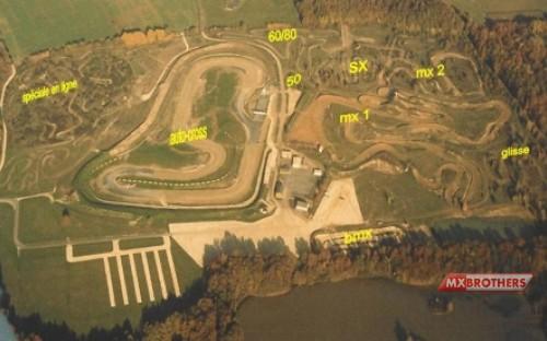 Motocross Strecke Tourneix - France