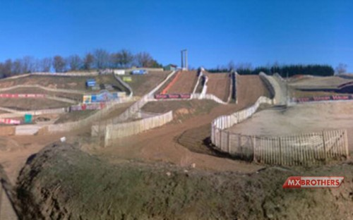Motocross circuit Valence - France