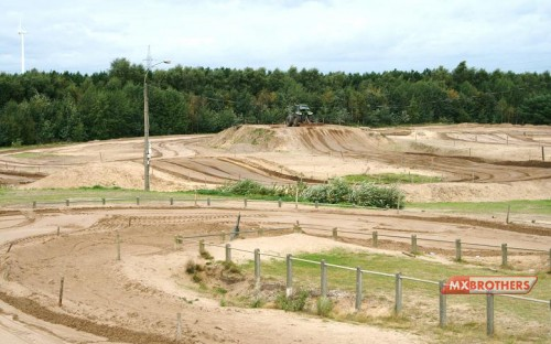 Overview Motocross track Lommel