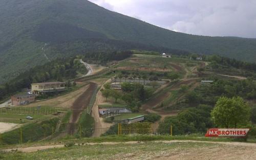 Motocross strecke Esanatoglia