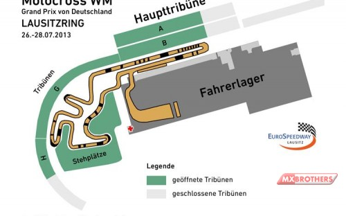 Track for the 2013 MX World Championship