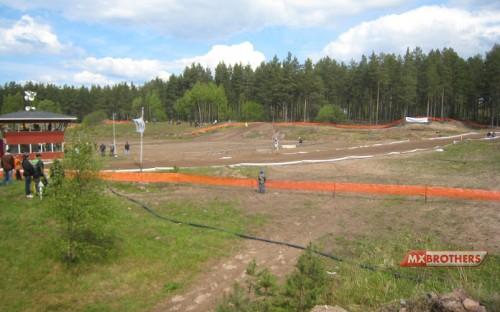 Yyteri Motocross strecke