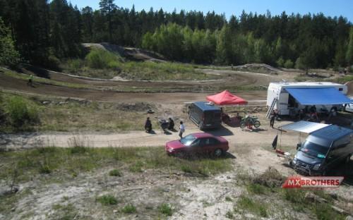Motocross track Pori Finland