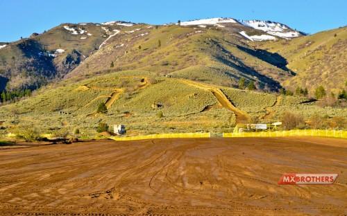 Motocross track Honey Lake - California