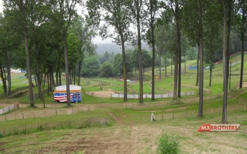 Motocross track Kester
