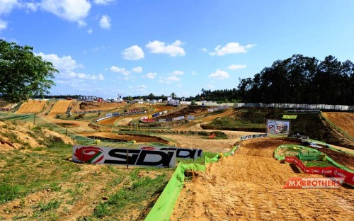 Motocross circuit Agueda Portugal