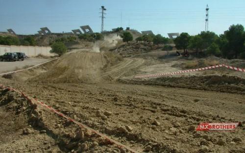 Motocross track Ejea de los Caballeros - Spain