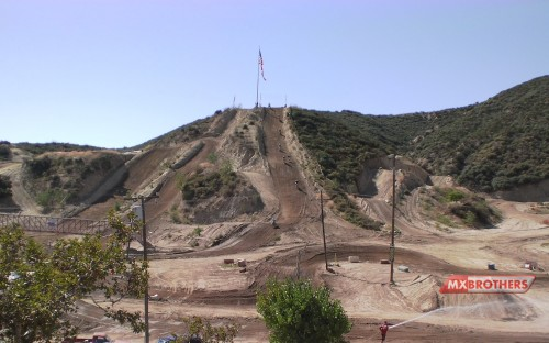 Motocross strecke Glen Helen - California
