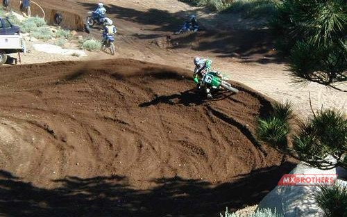 Motocross banan Mammoth Mountain - California