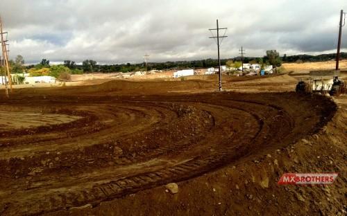 Perris Raceway Motocross Strecke - California