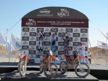 Motocross race in Qatar - Losail circuit