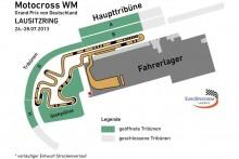 Motocross Track Lausitzring 2013 World Championship