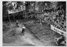 Eyller Berg motocross track in the early 50's